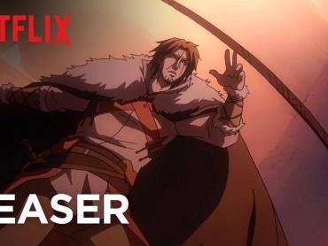 『悪魔城ドラキュラ』にインスパイアされたアニメ『キャッスルヴァニア』ついにNetflixで2017年7月配信!