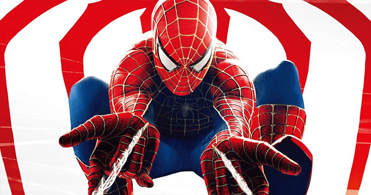 手から糸を出すスパイダーマンの画像