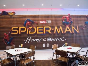 六本木の『スパイダーマンカフェ』、海外メディアも好意「日本の映画PRには勝てないよ」