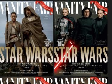 『スター・ウォーズ / 最後のジェダイ』新ビジュアルが解禁!米VANITY FAIR誌が公開
