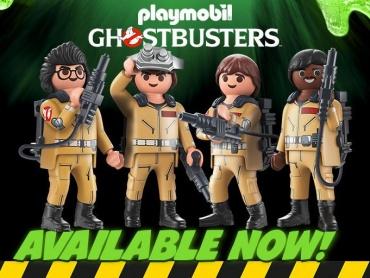 映画『ゴーストバスターズ』を再現可能なプレイモービル「PLAYMOBILE Ghostbusters™」がカワイイ!
