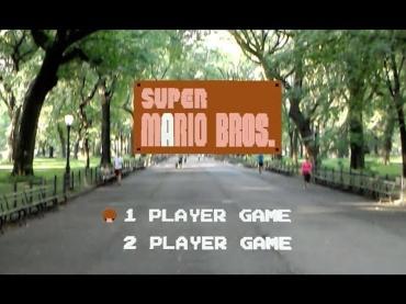 """ARで自分がマリオに!""""マイクロソフト・ホロレンズ""""でリアル『スーパーマリオブラザーズ』をNYでプレイ!"""
