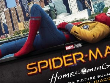 『スパイダーマン:ホームカミング』約6分の「組曲」解禁!米国ではサウンドトラックの予約受付が始まる