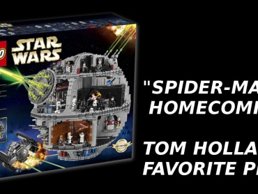 トム・ホランド『スパイダーマン:ホームカミング』でお気に入りの小道具はレゴのデス・スター(約500ドル)
