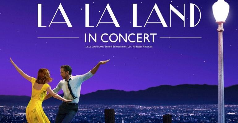 オーケストラの生演奏でセブ&ミアが歌う ― 「ラ・ラ・ランド in コンサート」2017年9~10月に日本国内3都市を巡演!