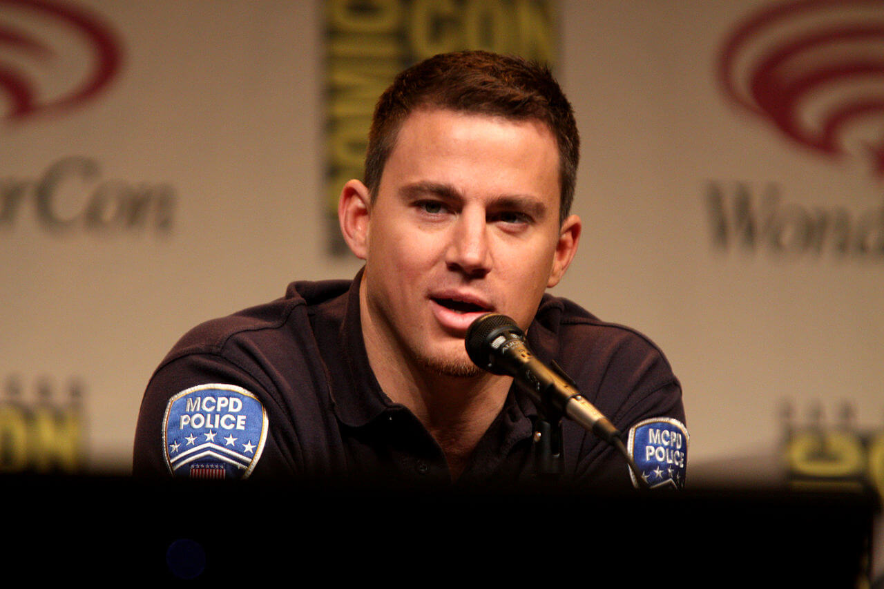 Channing Tatum speaking at the 2012 WonderCon in Anaheim, California. / Gage Skidmore from Peoria, AZ, United States of America