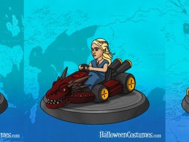 世界王座争奪戦の行方は?『ゲーム・オブ・スローンズ』と『マリオカート』のマッシュアップ・アート!あなたは誰を選ぶ?