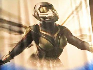 『アントマン&ワスプ』新女性ヒーロー、ワスプの第1弾ビジュアル公開! ― 米国ディズニーイベントにて
