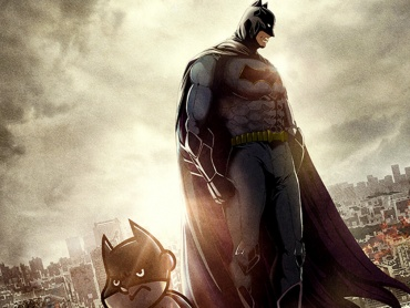 『DCスーパーヒーローズ vs 鷹の爪団』でバットマン(山田孝之)とジョーカー(安田顕)が激突!ビジュアル&特報解禁!