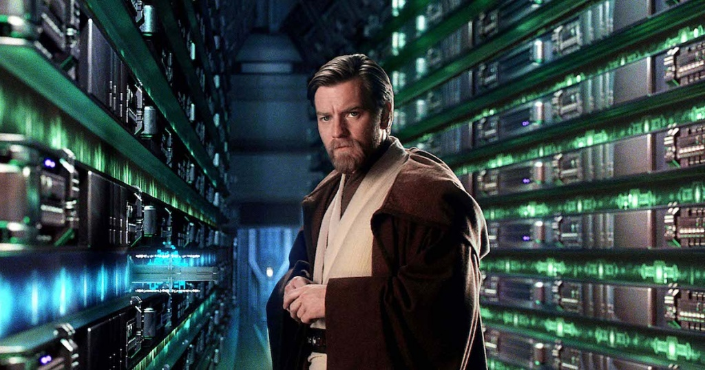 Obi-Wan Kenobi (Ewan McGregor) searches for answers in the library of the Jedi Temple in Star Wars: Episode III Revenge of the Sith. PHOTO: SUPPLIED BY GLOBE PHOTOS INC 2005 K43179