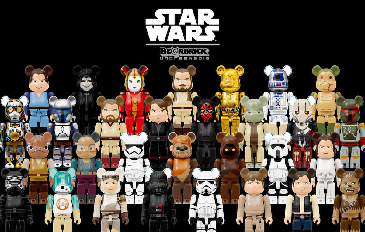 c & TM Lucasfilm Ltd. BE@RBRICK TM & c 2001-2017 MEDICOM TOY CORPORATION. All rights reserved.