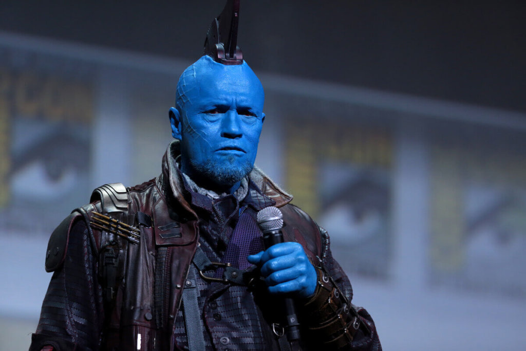 "Michael Rooker speaking at the 2016 San Diego Comic Con International, for ""Guardians of the Galaxy Vol. 2"", at the San Diego Convention Center in San Diego, California. / Gage Skidmore ( https://www.flickr.com/photos/gageskidmore/28046934933/ )"