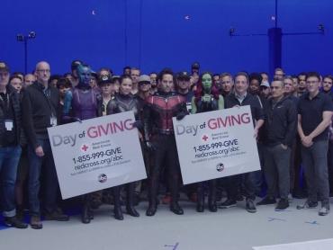 『アベンジャーズ』撮影チーム、巨大ハリケーン「ハービー」被害で募金呼びかけへ ― アントマンが新スーツで登場