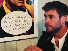 『マイティ・ソー』クリス・ヘムズワース「クリス・プラットになりたい…」Instagramで盛大にイジる