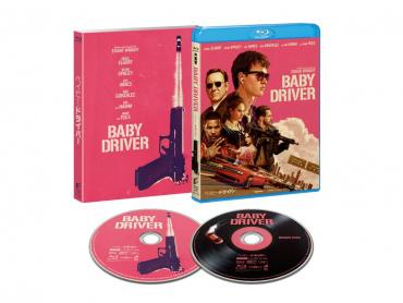 映像と音楽の完全なる融合『ベイビー・ドライバー』ブルーレイ&DVD、1月24日発売決定!