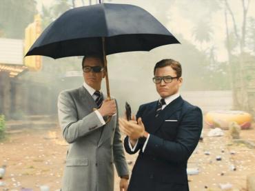 視界の270度、英国紳士!『キングスマン:ゴールデン・サークル』3面スクリーン上映決定、特別映像が到着
