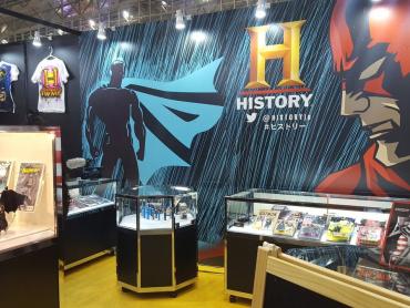 【東京コミコン2017】ヒーローの歴史紐解く特別番組「アメコミ・ヒーロー大全」ブースがスゴかった ― コレクター私物のレトロフィギュア&コミック多数展示
