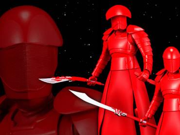 『スター・ウォーズ/最後のジェダイ』にサムライ魂あり ─ 真紅のプレトリアン・ガード、デザインの秘訣は「日本的」