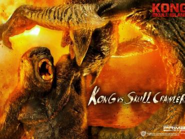 『キングコング:髑髏島の巨神』ド迫力スタチュー化 ─ コングvsスカルクローラーの激闘をお部屋に完全再現