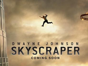 ドウェイン・ジョンソン主演『スカイスクレイパー』2018年9月公開決定!超高層ビルアクション、予告編も初解禁