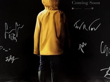 """『IT/イット """"それ""""が見えたら、終わり。』子役7名+ペニーワイズ役ビル・スカルスガルドの直筆サイン入ポスターをプレゼント!Blu-ray&DVD発売記念"""