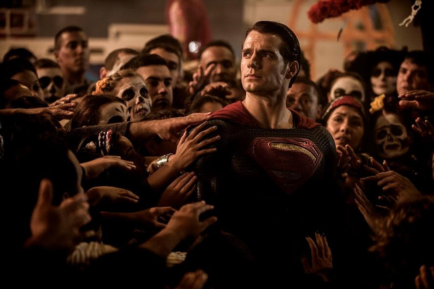 映画『バットマンvsスーパーマン:ジャスティスの誕生』のスーパーマン