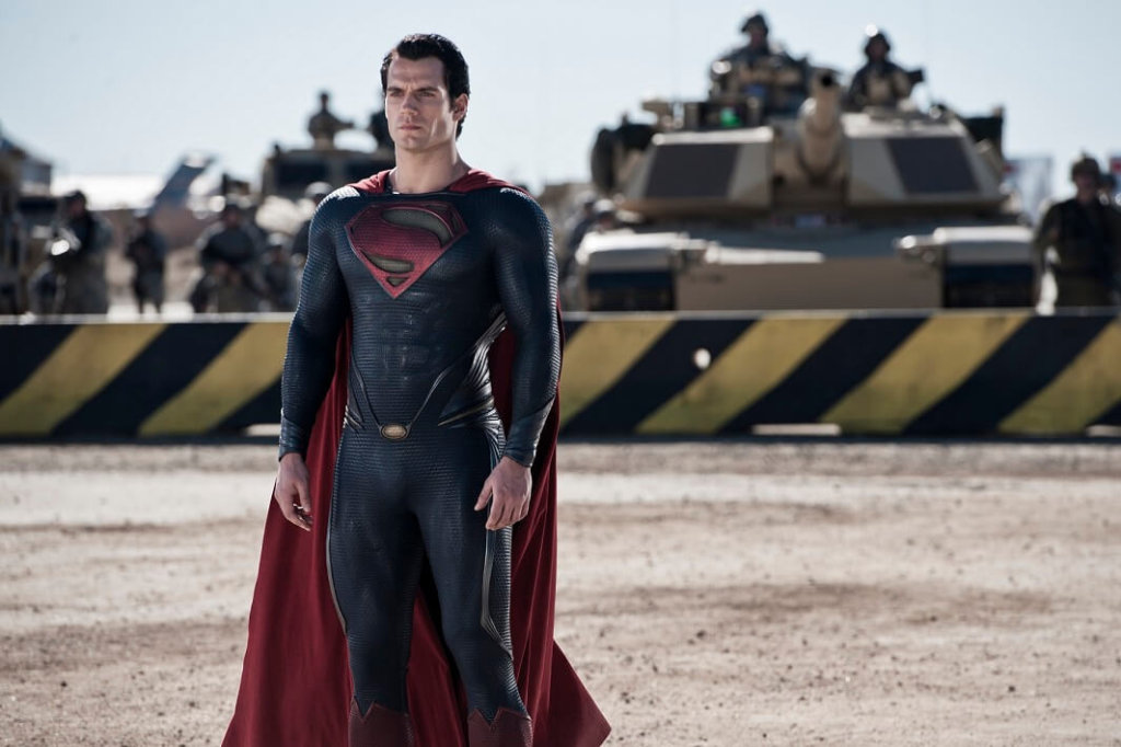 映画『マン・オブ・スティール』のスーパーマン