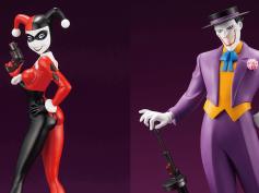 ジョカハレ、揃えてみない?アニメ版『バットマン』ジョーカーとハーレイ・クインがARTFX+で立体化 ─ 互いの追加パーツが付属するカップル商品