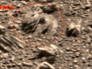 火星の地表に『スター・ウォーズ』のジャバ・ザ・ハットが出現したと話題に
