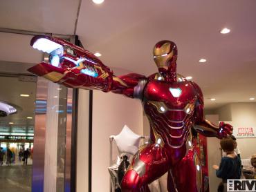 アイアンマン・マーク50がお出迎え!渋谷109のMARVEL限定ストアがスゴい! ─ インスタ映えスポット多数、欲しいグッズがザックザク