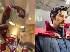 アイアンマン&ドクター・ストレンジ、衝突か協力か?『アベンジャーズ/インフィニティ・ウォー』ダウニー・Jr.&カンバーバッチが語る