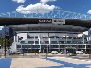 「マーベル・スタジアム」が誕生 ─ オーストラリアの多目的競技場で名称を取得、2018年9月より