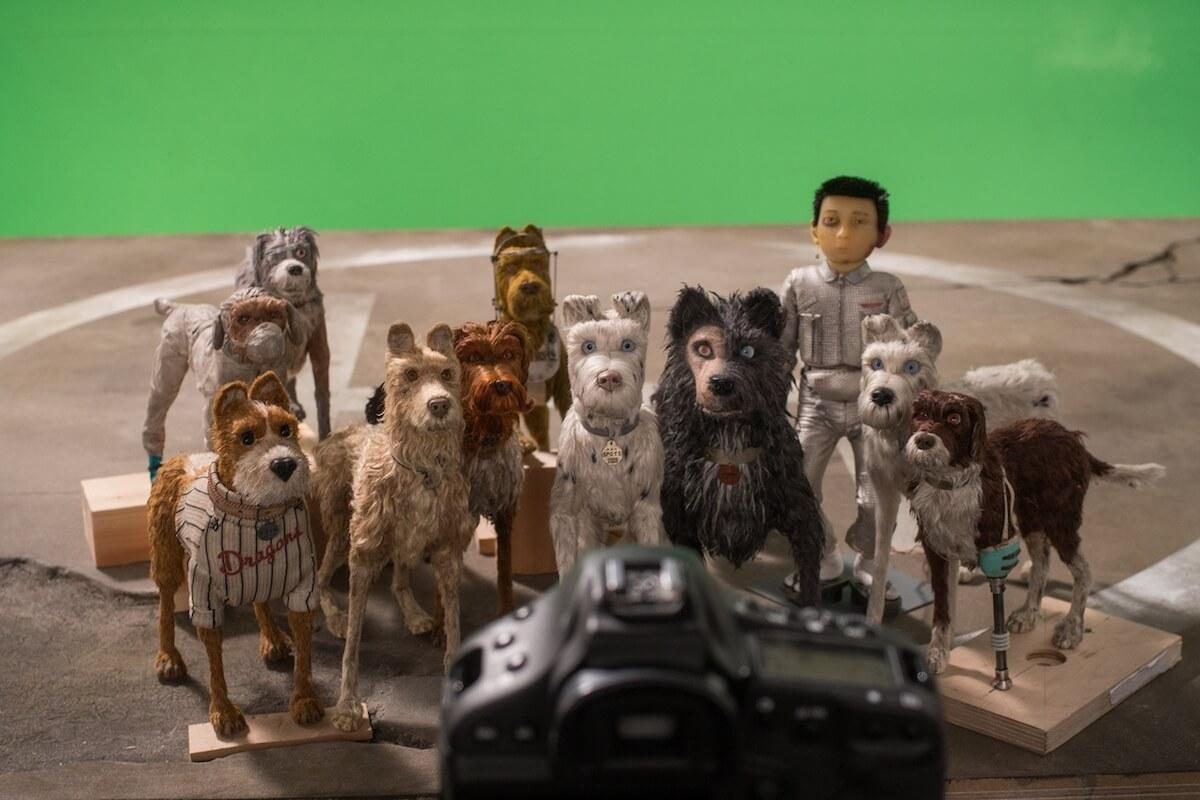 映画『犬ヶ島』メイキング画像