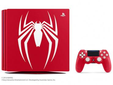 スパイダーマン仕様のPS4Proが数量限定で発売決定 ─ ソフト『Marvel's SPIDER-MAN 』同梱