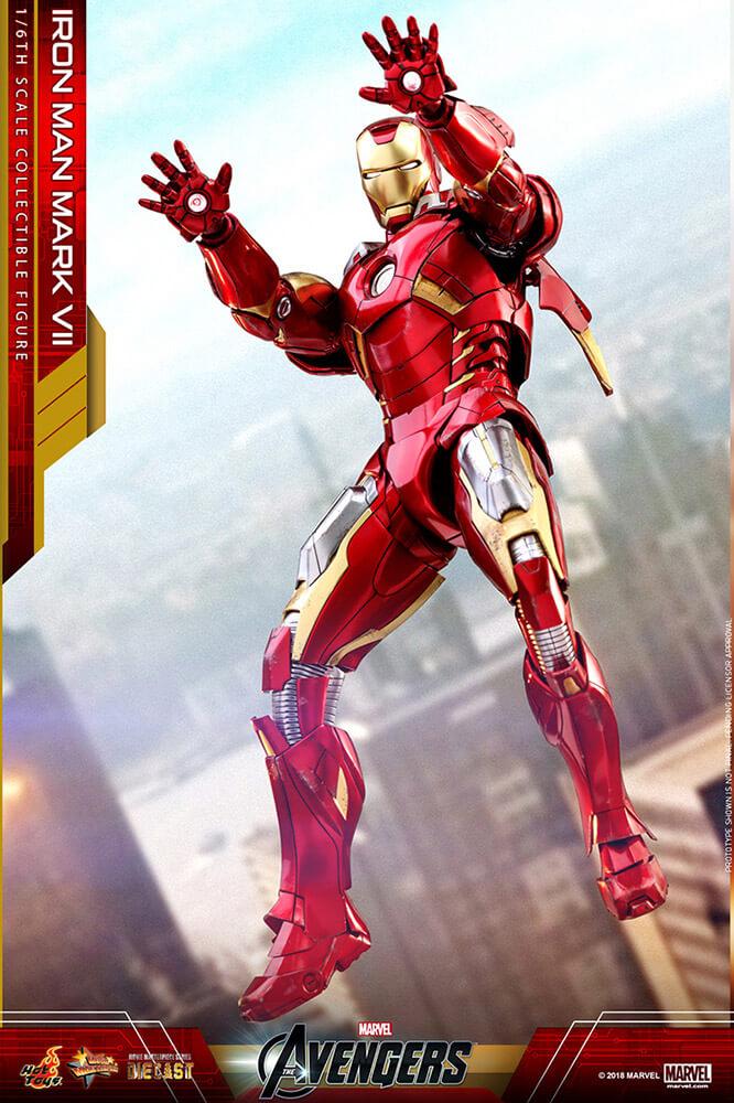 【ムービー・マスターピース DIECAST】『アベンジャーズ』1/6スケールフィギュア  アイアンマン・マーク7