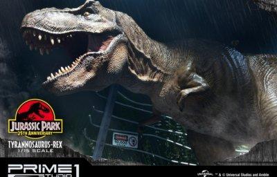 レガシーミュージアムコレクション/ ジュラシック・パーク: T-REX ティラノサウルス・レックス 1/15 スタチュー LMCJP-01