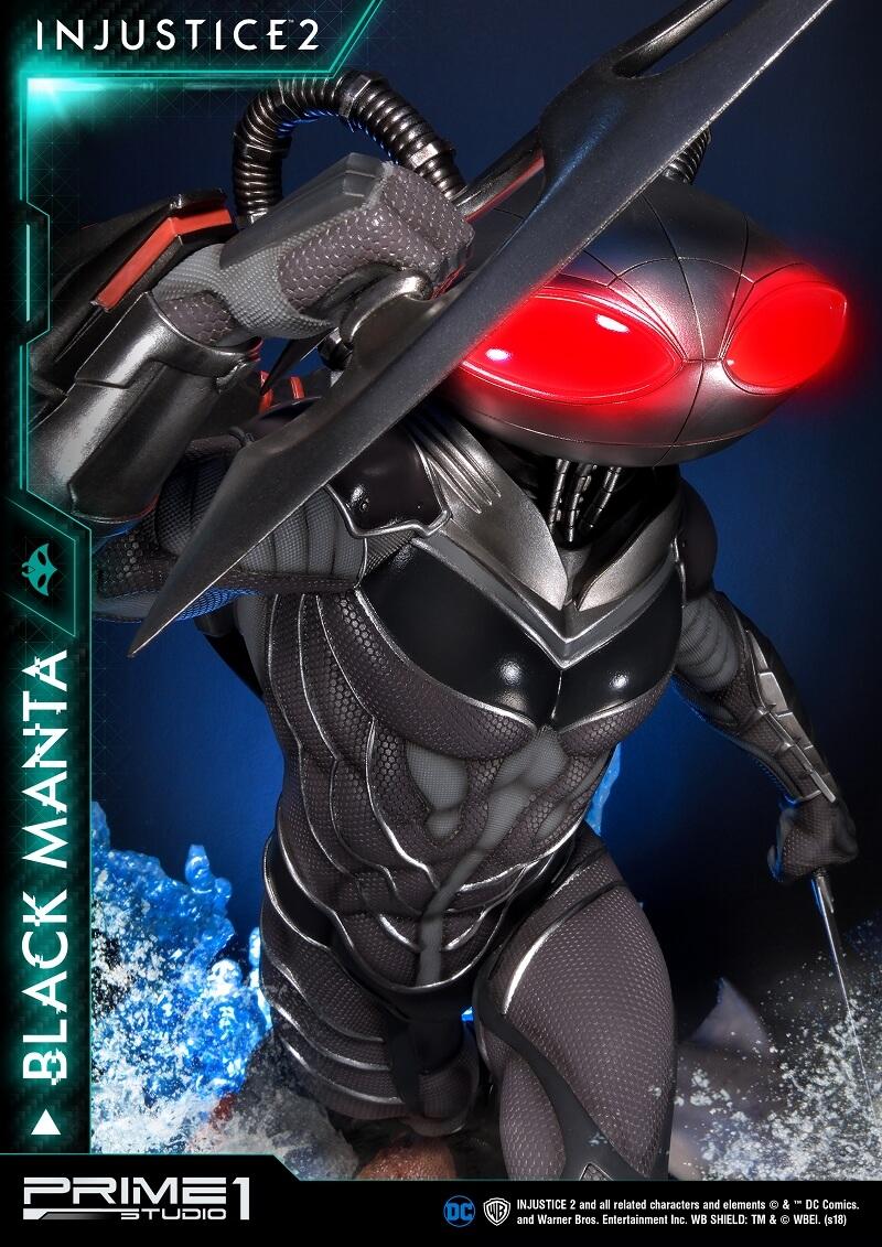 プレミアムマスターライン/ インジャスティス2: ブラックマンタ 1/4 スタチュー PMDCIJ-02