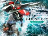 アクアマンの宿敵ブラックマンタ、忠実スタチュー化 ─ ゲーム『インジャスティス2』より