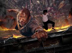 ロック様と高層アクションに挑め!『スカイスクレイパー』特設ブース、全国5大都市に順次登場