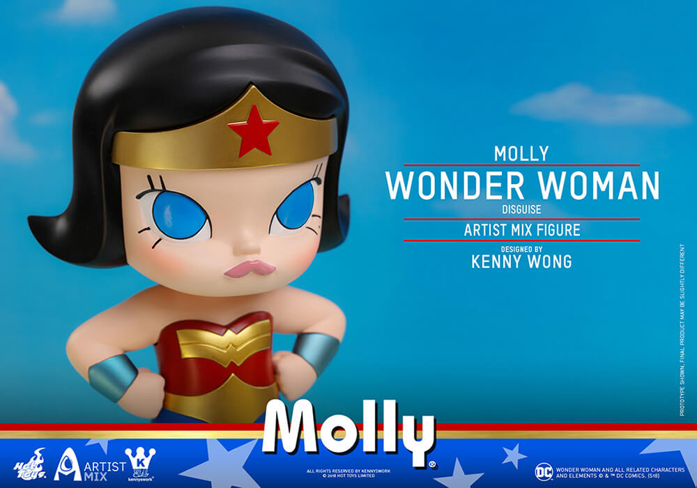 『DCコミックス』モリー(ワンダーウーマン・コスプレ版)Byケニー・ウォン