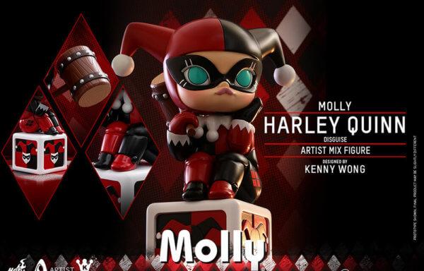 【アーティストMIX】『DCコミックス』モリー(ハーレイ・クイン・コスプレ版)Byケニー・ウォン