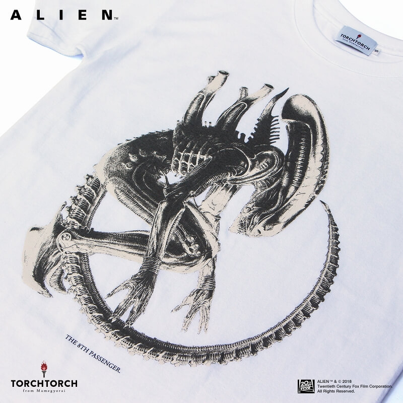 "TORCH TORCH/ エイリアン ""The 8th Passenger"" Tシャツ"