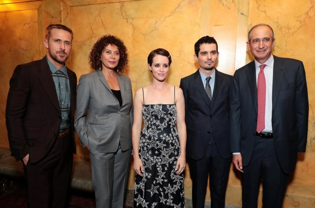 『ファースト・マン』の映画祭公式記者会見