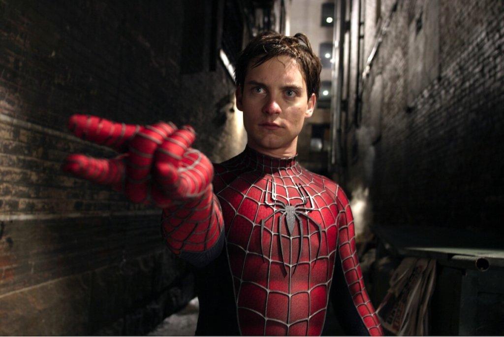 『スパイダーマン2』ピーター・パーカー(トビー・マグワイア)