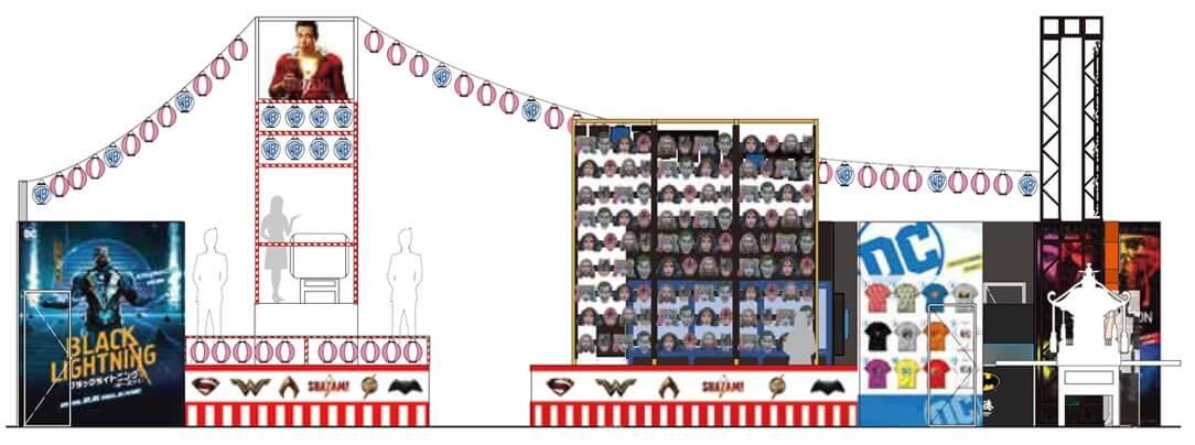第3回東京コミコン ワーナー ブラザース ジャパンブース