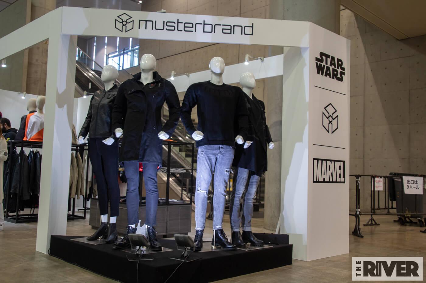 東京コミコン2018で初上陸「musterbrand(マスターブランド)」