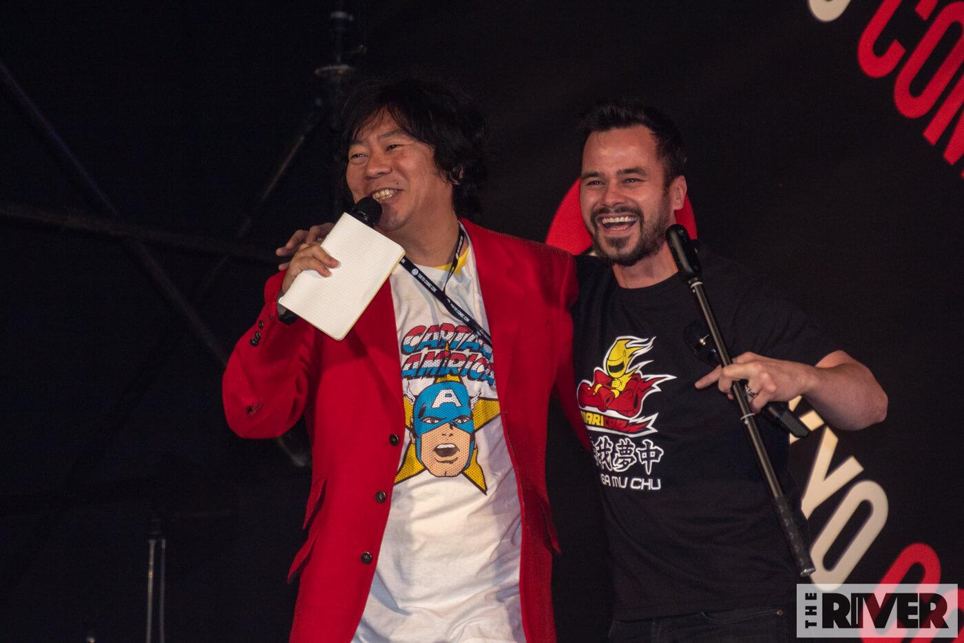 東京コミコン2018 ダニエル・ローガン