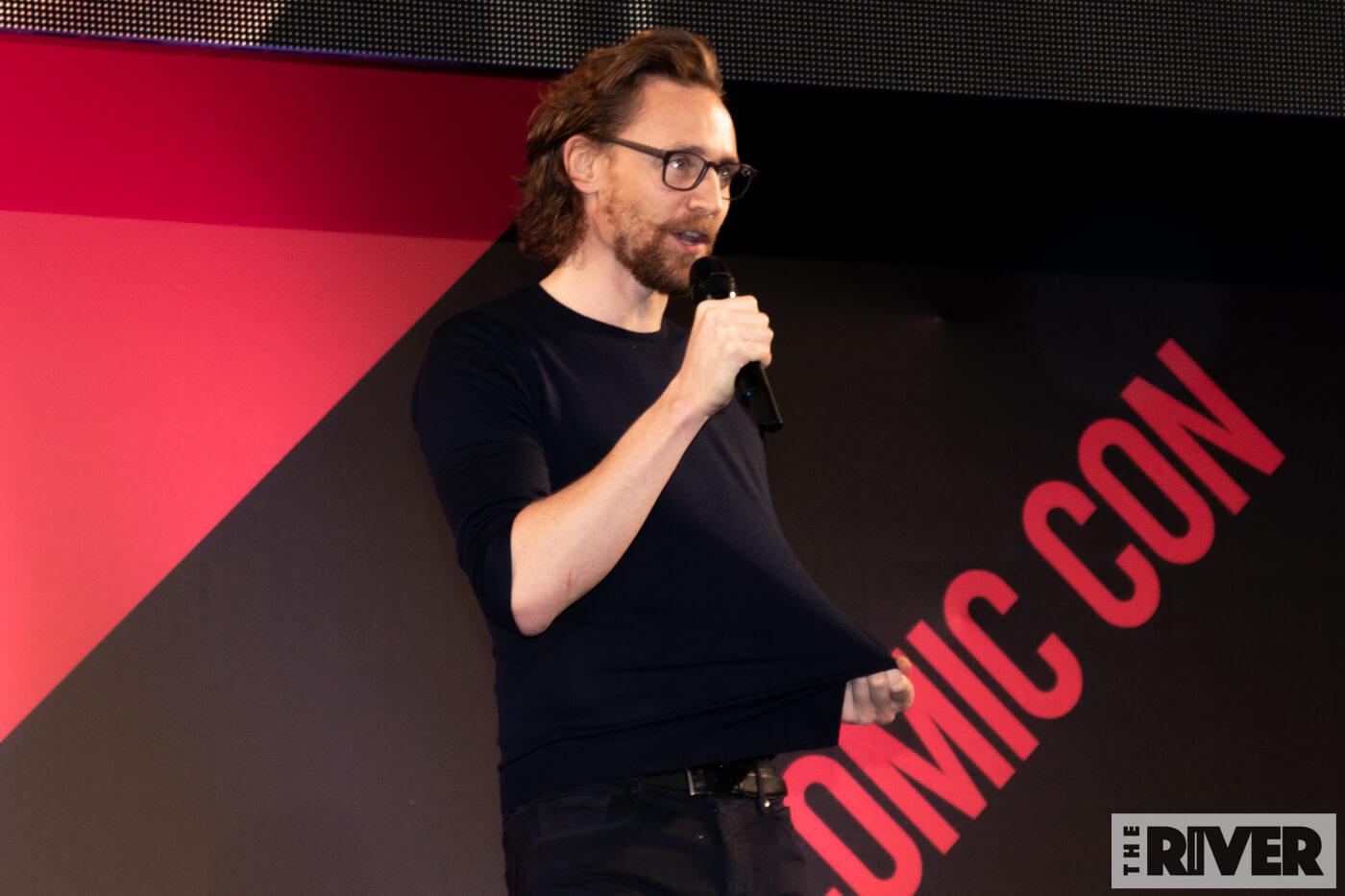 東京コミコン2018 トム・ヒドルストン