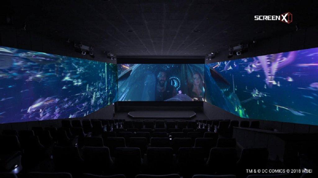 『アクアマン』:大迫力のスクリーンX 版海中シーン映像公開!
