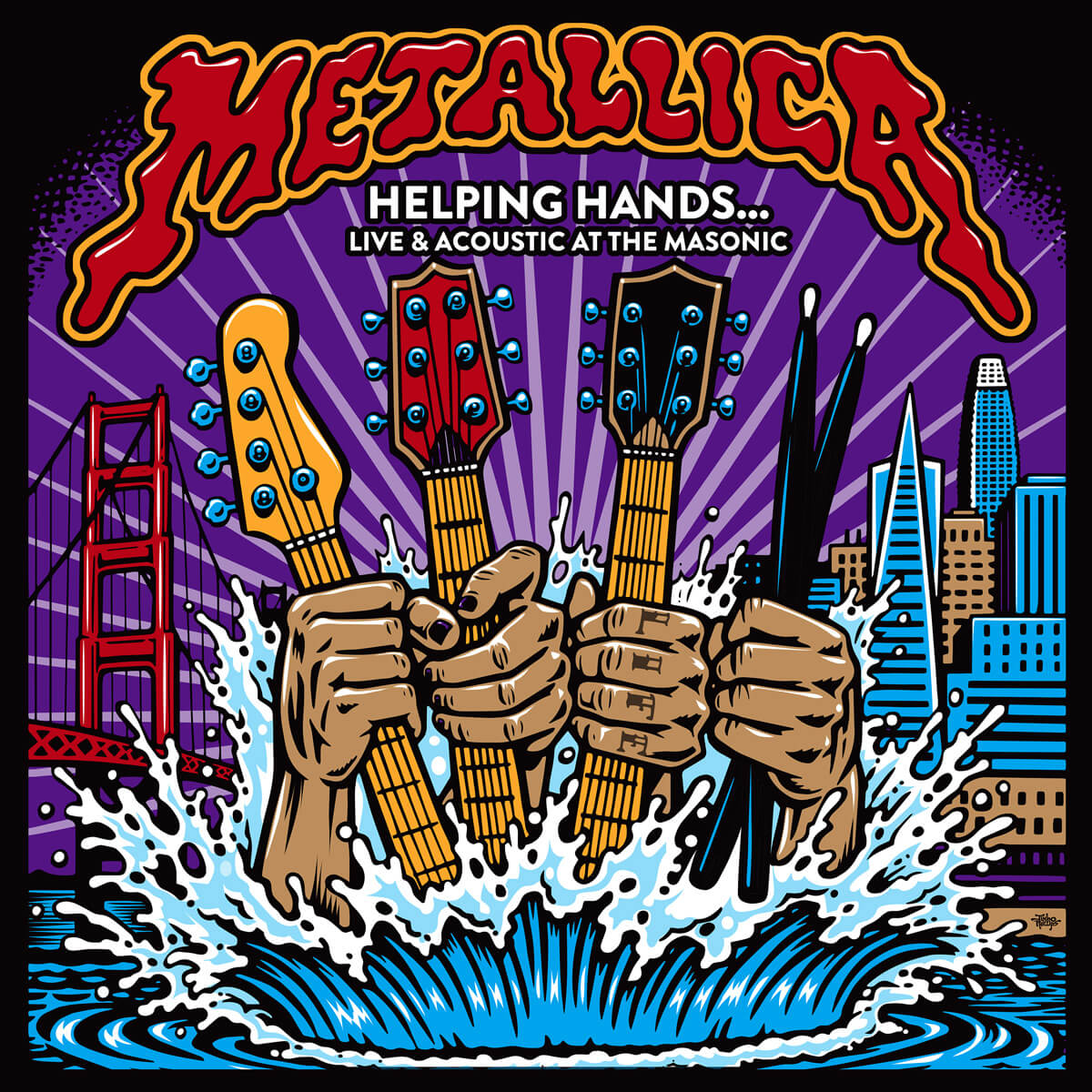 メタリカ METALLICA (Helping Hands…Live & Acoustic at The Masonic)